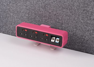 Pulse pink with uk sockets and data