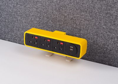 Pulse yellow with UK sockets and TUF charger
