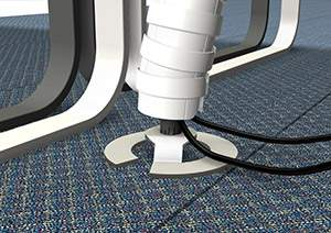 Pathfinder Vertical Cable Management Oe Electrics Spine