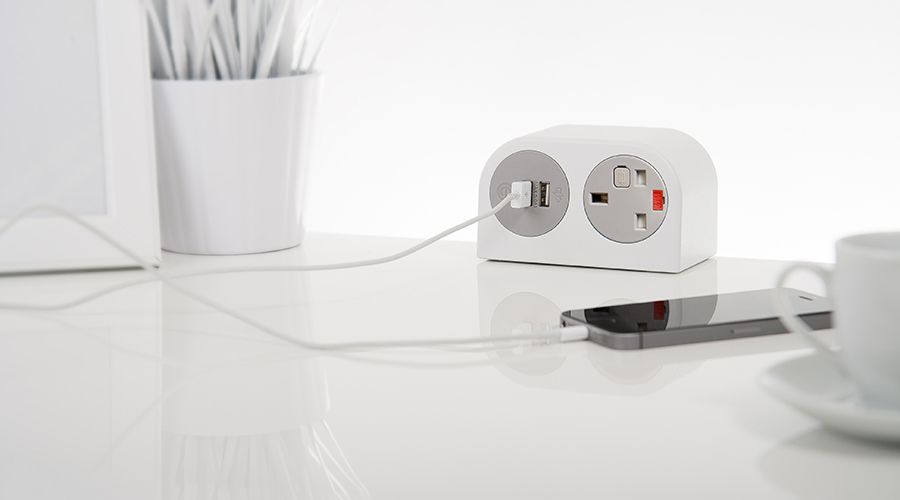Phase Soft Seating Sockets Usb Charging Desk Top Power Socket