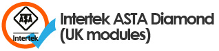 Intertek Asta diamond (UK modules) logo