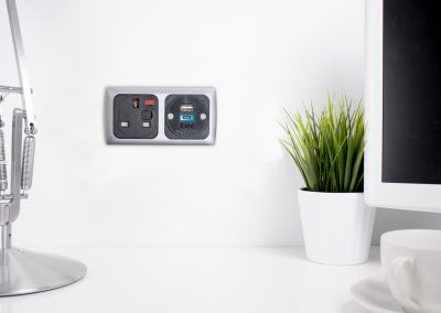 mounted power unit, wall power, usb charging wall mounted