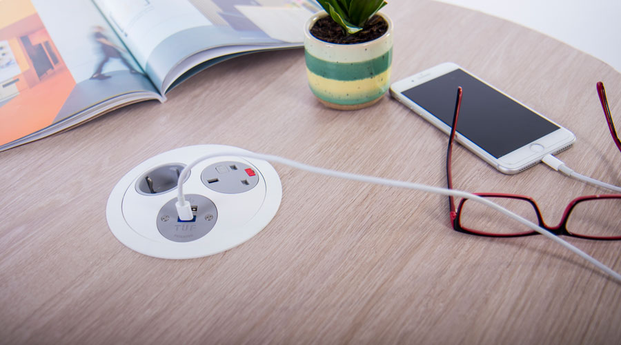 pandora-white-USB-charger-hidded-power-indesk-officecharging-classroom-education-usb