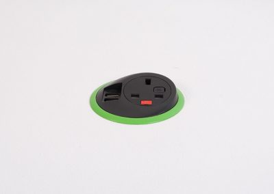 integrated power, integrated plug sockets, integrated power sockets, integrated usb charging, reversible usb-c, power in classrooms, power in furniture, power in offices, plug sockets in classrooms, power in universities, plug sockets in universities, plug sockets in office