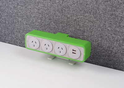 Pulse green with australian sockets and TUF charger