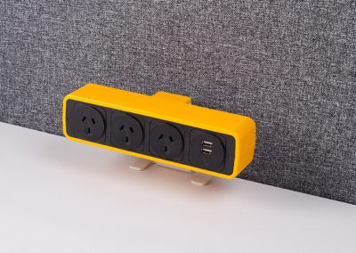 Pulse Light orange with australian sockets and TUF charger