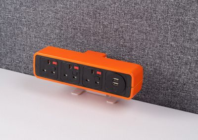 Pulse orange with uk sockets and TUF charger