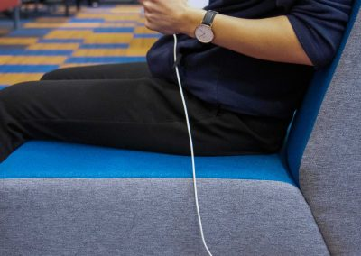 reversible use type a charger In seating