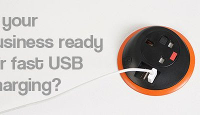 Advertisement: Is your business ready for fast USB charging?