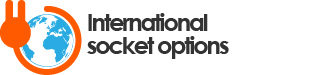 International socket options logo