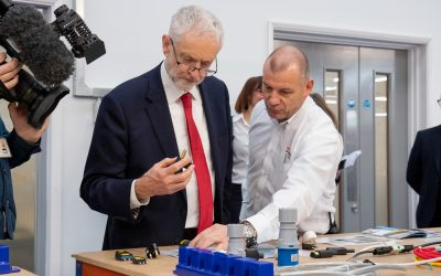 OE Electrics Host Jeremy Corbyn MP