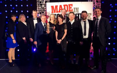 OE Electrics Wins Made in Yorkshire Manufacturer of the Year Award