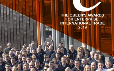 OE Electrics win the Queen's Award for Enterprise: International Trade 2019