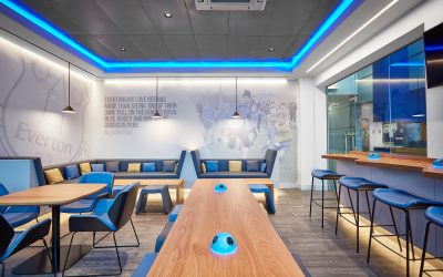 Case study – Everton FC Family Lounge – USM Finch Farm