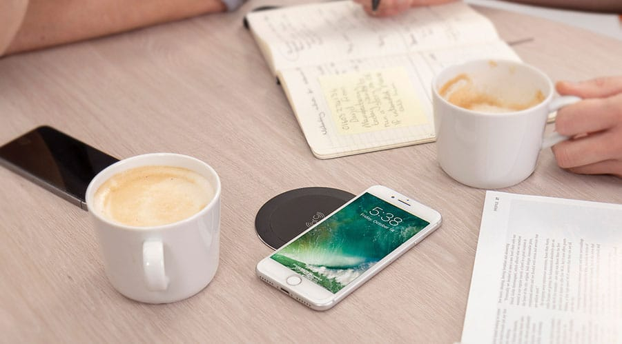 ARC80. Lose those annoying cables and get charging with ARC80 Simply rest your wireless compatible phone* on our wireless charger for a fast convenient charge – perfect for flexible workplaces!